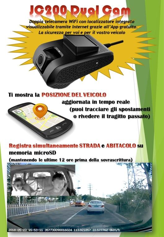 telecamera per auto